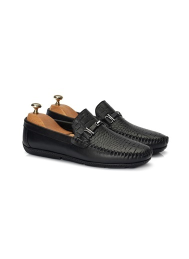 Muggo  Mb113 Erkek Loafer Ayakkabı Siyah